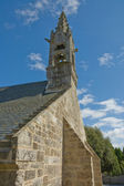 Britton church with bell tower — Stock Photo
