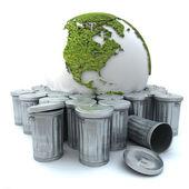 Verspilde wereld — Stockfoto