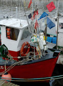 Detail of fishing boat — Stock Photo