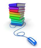 E-lettura — Foto Stock