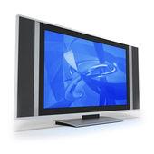 Flat TV — Stock Photo