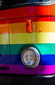 Gay truck — Stock Photo