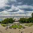 Magnificent view from Montmartre, Paris — Stock Photo