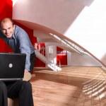 Modern working environment — Stock Photo