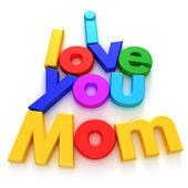 Te amo mamá — Foto de Stock
