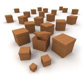 Open box — Stock Photo