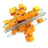 Orange rotation — Stock Photo