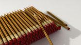 Pila de lápices — Foto de Stock