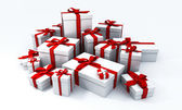 Xtmas gifts — Stock Photo