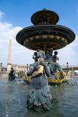 Place de la Concorde , Paris — Zdjęcie stockowe