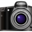 Photo camera — Stock Vector #2156555
