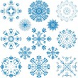 Royalty-Free Stock Vectorielle: Snowflake