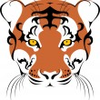 Stock Vector: Tiger 2010