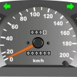 Stock Vector: Dashboard