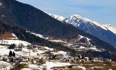 Mountain village in the italian Alps — Stock Photo