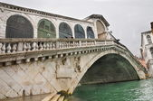 Rialto Bridge in Venice — Stock Photo
