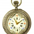 Stock Photo: Old style pocket watch