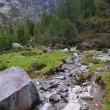Mountain landscape with creek — Stok Fotoğraf #2263666