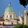 Stock Photo: Cathedral and Skyline of Brescia, Italy