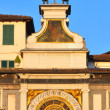 Astronomical clock in Brescia — Stock Photo