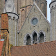 Detail of gothic architecture — Stockfoto