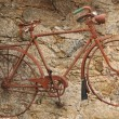 Very old rusty bycicle — Stock Photo #2442059