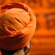 Orange turban — Stock Photo