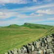 Hadrian's wall in northern England — Stock Photo