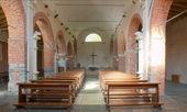 Dentro de un anuncio de 1200 construyó iglesia — Foto de Stock