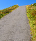 Uphill road — Stock Photo