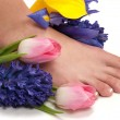 Stockfoto: Pedicure Spa