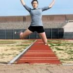 Athlete — Stock Photo