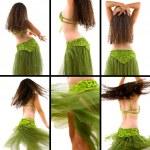 Belly Dancer — Stock Photo