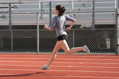 Atleta — Foto Stock
