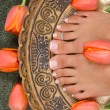 Royalty-Free Stock Photo: Pedicure