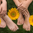 Feet — Stock Photo