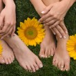 Stock Photo: Feet
