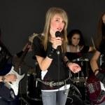 Girls Band — Stock Photo
