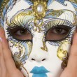 Stock Photo: Hand Painted Mask