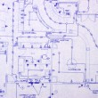 Blueprint — Stock Photo #2223918
