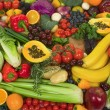 Vegetables and Fruits - Foto de Stock  