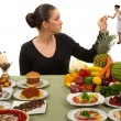 Eating Healthy - Stockfoto