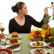 Stock Photo: Eating Healthy