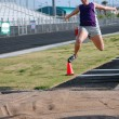Long Jump - Stock Photo