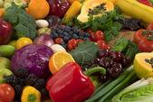 Groenten en fruit — Stockfoto