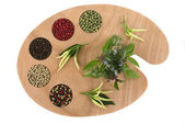 Spices and Herbs — Stockfoto