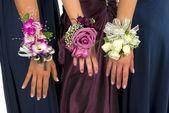 Bouquets de corsage de bal — Photo