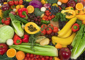 Vegetables and Fruits — Foto de Stock