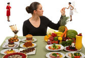 Eating Healthy — Stockfoto