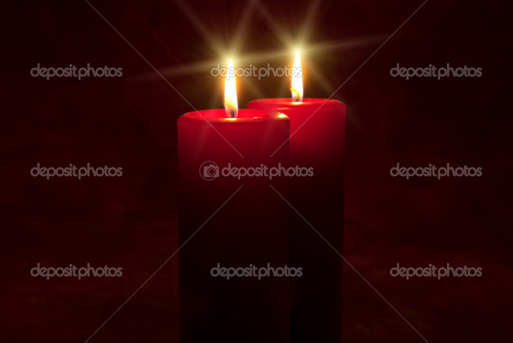 Peaceful candlelight — Foto Stock #2224314